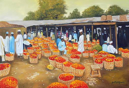 Mile 2 Market Lagos by Olaoluwa Smith