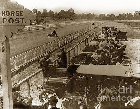 California Views Mr Pat Hathaway Archives - Mile oval Race track at Hotel Del Monte Circa 1906