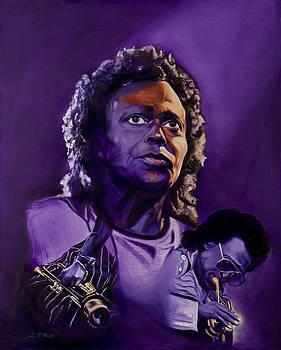 Miles Davis by Loretta McNair