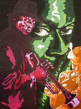 Miles Davis by Ronald Young
