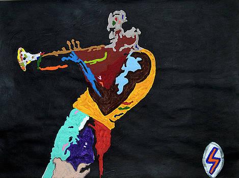Miles Davis by Stormm Bradshaw