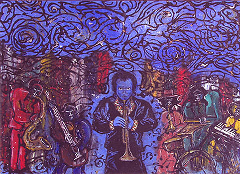 Miles of Mind Blowing Kind of Blue by Melvin Robinson