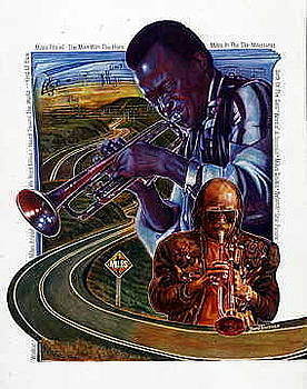 Miles Then and Now by Buena Johnson