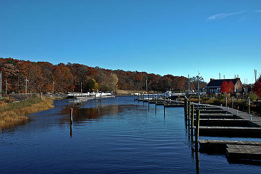 Milford CT Harbor Ready for Winter by Frank Feliciano