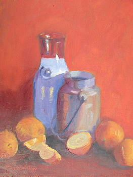 Milk and Oranges by Maureen Obey