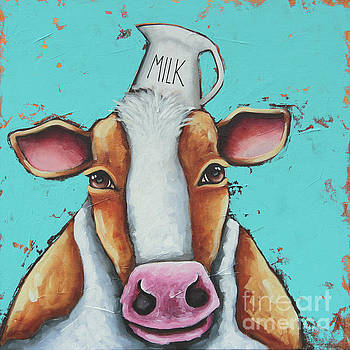 Milk is good for you by Lucia Stewart