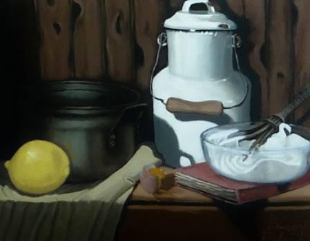 Milk Jug meringue by Susan Roberts