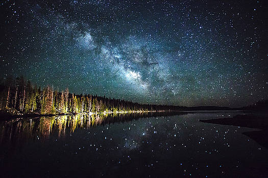 Milky Lake by Dean Chytraus