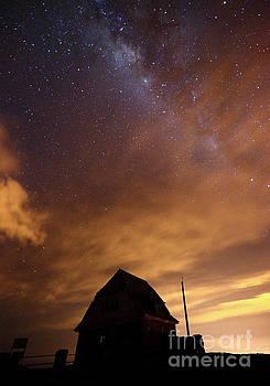 James Brunker - Milky Way Above Old Ski Hut at Mt Chacaltaya 1