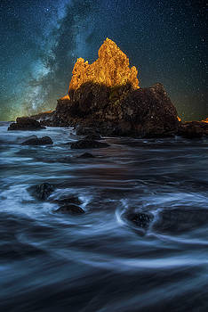 Milky Way Cove by Darren White