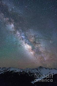 Milky Way Galaxy Independence Pass CO by Tibor Vari