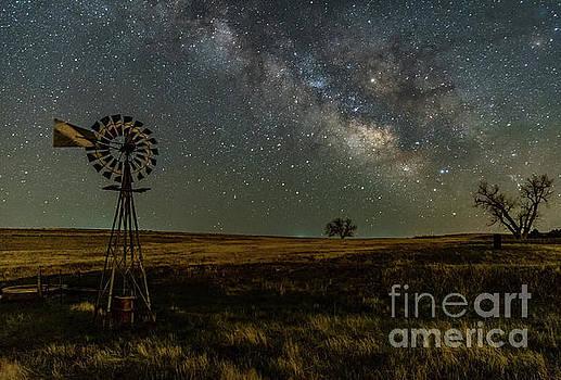 Milky Way Galaxy near Calhan CO by Tibor Vari