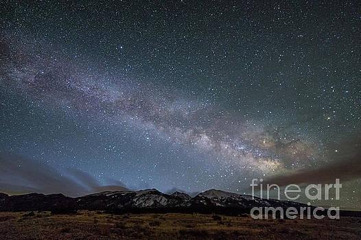 Milky Way Galaxy Over Blanca Peak by Tibor Vari