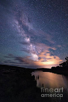 Tibor Vari - Milky Way Galaxy Reflection Snake River Grand Tetons