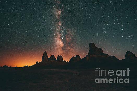 Milky Way in Trona by Art K