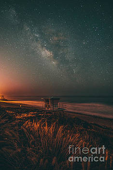 Milky Way Life Guard Stand by Art K