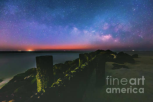 Milky Way Ocean by Robert Loe
