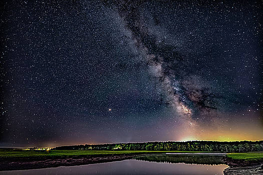 Milky Way on the Eastern Trail by Darryl Hendricks