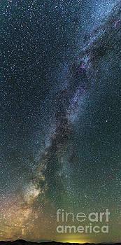 Tibor Vari - Milky Way over 11 Mile Reservoir