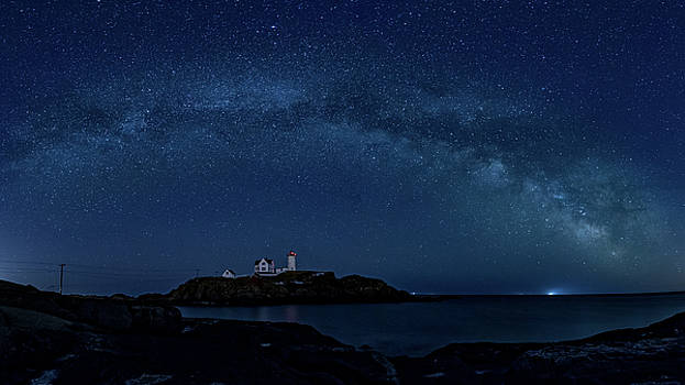 Milky Way over Nubble by Darryl Hendricks