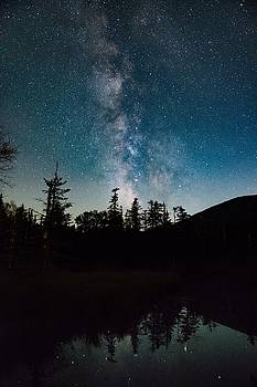 Milky Way over Pinkham Notch by Tim Sullivan