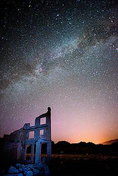 Dana Sohr - Milky Way over Rhyolite #2