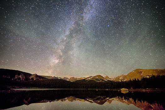 James BO  Insogna - Milky Way Over The Colorado Indian Peaks