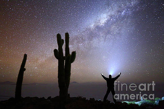 Milky Way Worship  by James Brunker
