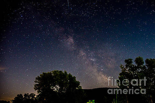 Milkyway in the Catskills by Jim DeLillo