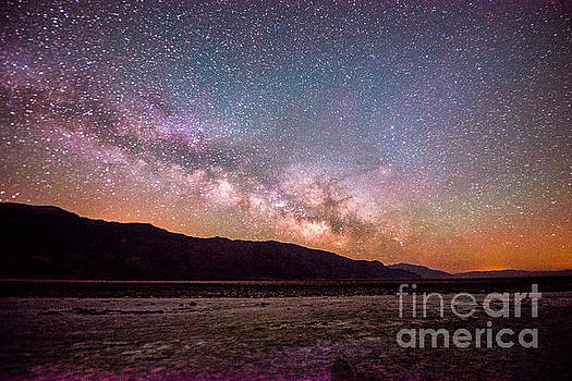 Milkyway over Death Valley by Jim DeLillo