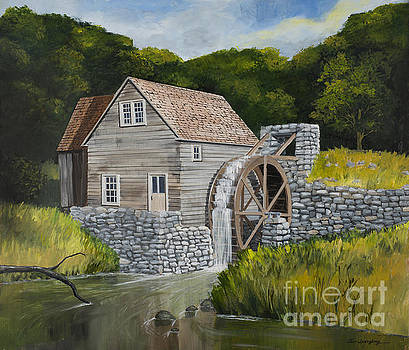 Mill Beside Still Water by Timothy Spongberg