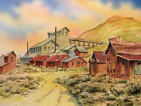 Mill Bodie Ghost Town California by Kevin Heaney