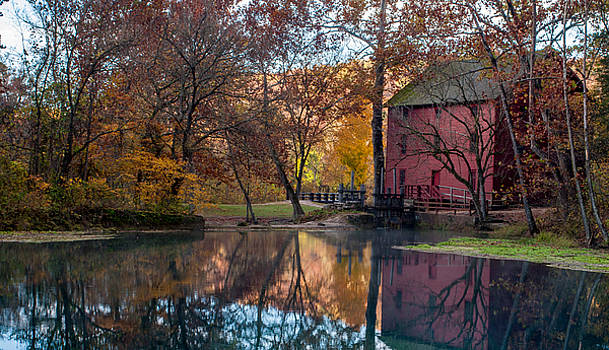 Mill by the lake by Clay Swatzell