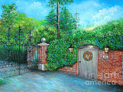 George Michaels Mill Cottage Garden by Patrice Torrillo