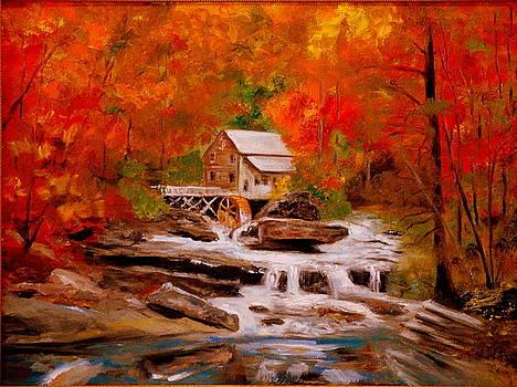 Mill Creek by Phil Burton