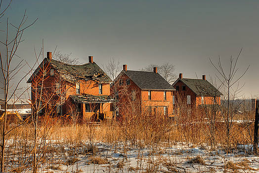 Mill Houses by Tony  Bazidlo