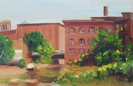 Mill Morning by Susan E Hanna