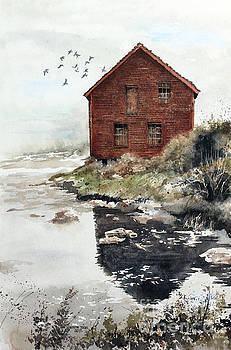 Mill Pond by Monte Toon