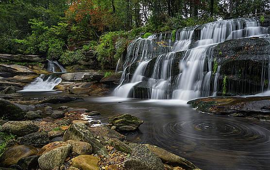 Mill Shoals Falls by Reid Northrup