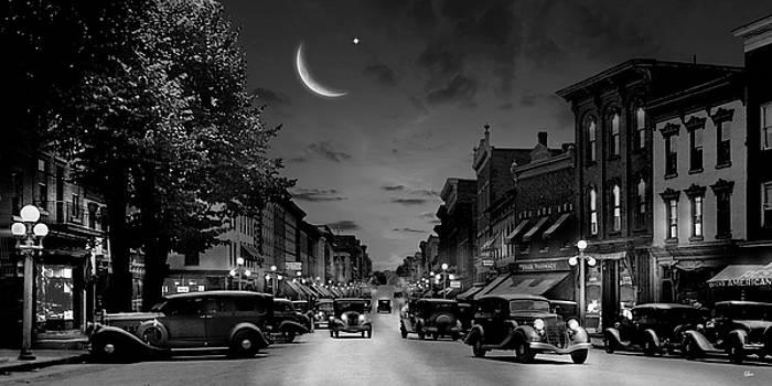Mill Street at Night by Glen Klein