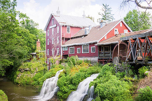 Mill Water Falls HDR by Ronald Hoehn