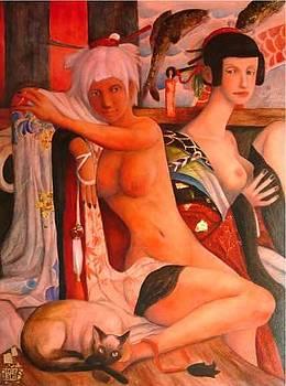 Millenium Girls by Ralph Nixon Jr
