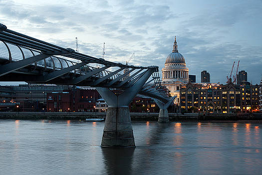 Millennium Bridge by Abdullah Bailey