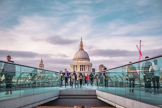 Millennium Bridge by Marius Comanescu
