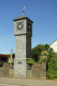 Millennium Clock Tower - Delabole by Rod Johnson