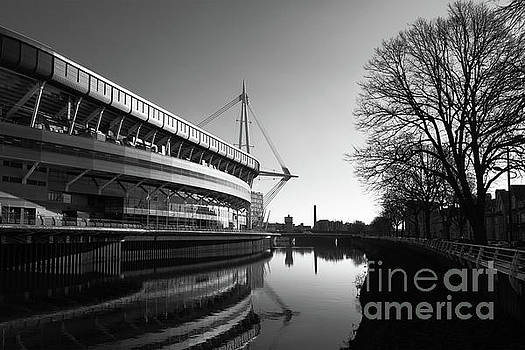 James Brunker - Millennium Stadium and River Taff Cardiff