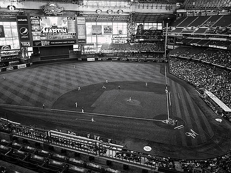 Steven Ralser - Miller Park - Milwaukee - Wisconsin Black and White