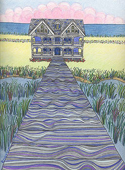 Miller's Dream with Wetlands by Harriet Emerson