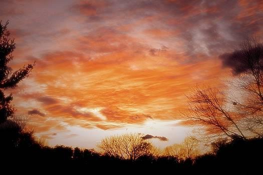 Millgarden Sunset Spotsylvania Virginia by Troy  Skebo