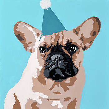 Milo the Frenchie by Julie Ahmad
